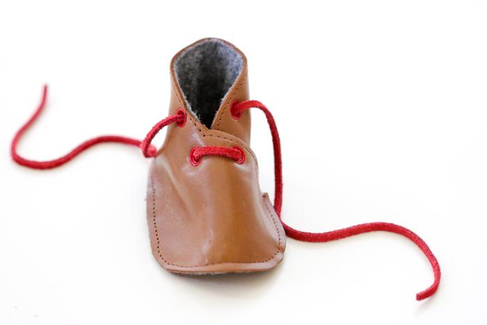 DIY Leather Baby Boy Boots - Free Pattern + Tutorial - Delia Creates (23) c0abb5390bfb
