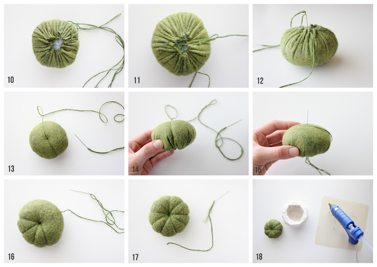 Geometric Cactus Pin Cushion TUTORIAL (1)
