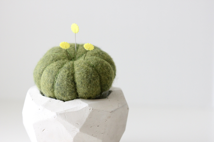 Geometric Cactus Pin Cushion TUTORIAL (10)