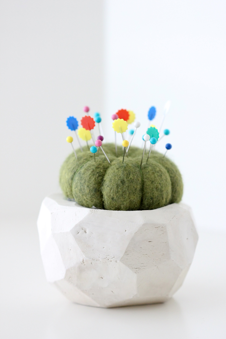 Geometric Cactus Pin Cushion TUTORIAL (7)