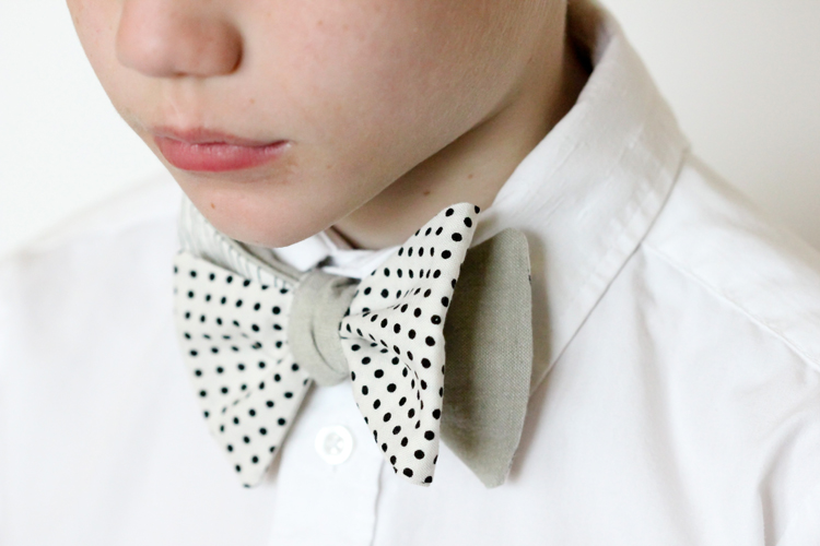 Mix and Match Bow Ties – Free Pattern and Tutorial