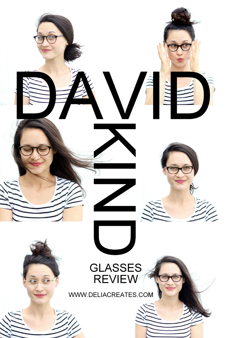 f017e7c515 Buying Glasses Online from David Kind - Delia Creates. Spring time is my ...