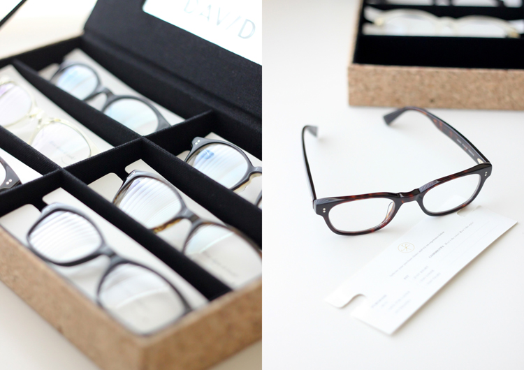 Buying Glasses Online from David Kind - Delia Creates