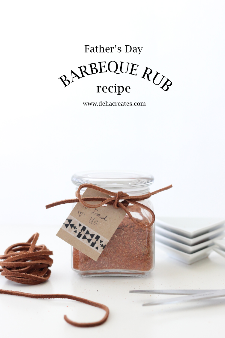 Father's Day BBQ Rub - Delia Creates