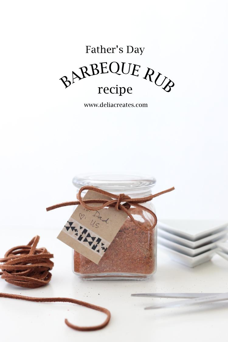 Father's Day BBQ Rub - Delia Creates