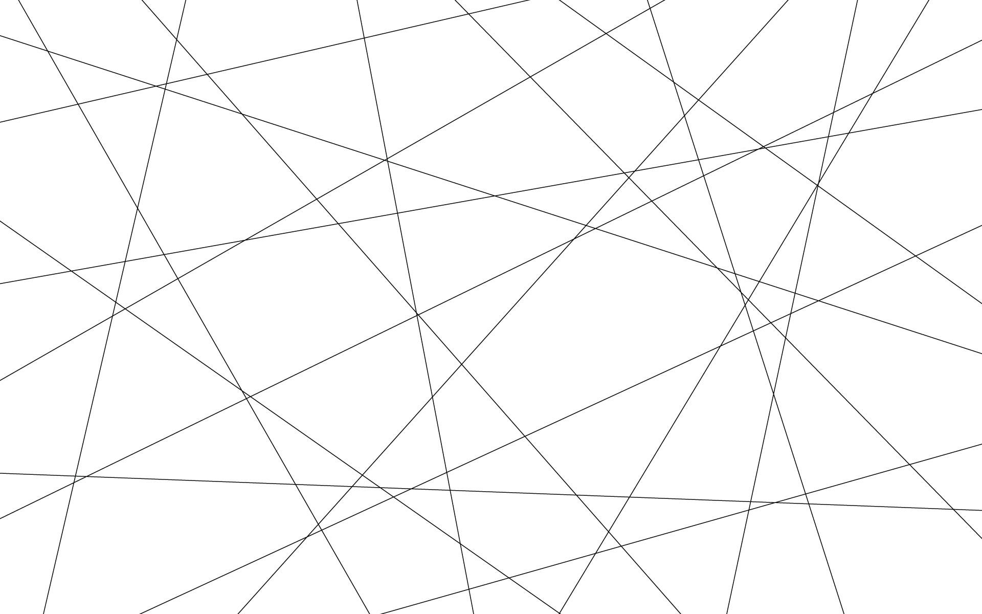 Geometric Lines Desktop Wallpaper