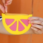 Citrus Wedge Coin Purse