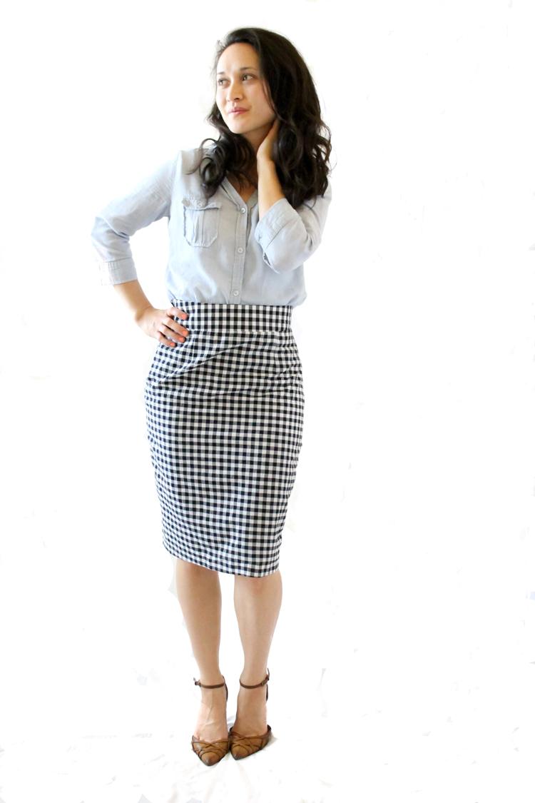 6b2b9ef98 Pleated Pencil Skirt Pattern // Delia Creates
