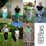 Pleated Pencil Skirt Tester Round Up