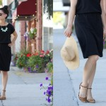Little Black Slouch Dress