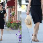 Little Black Slouch Dress