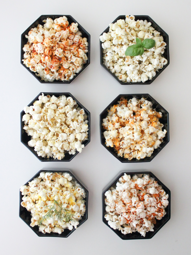 Ten easy popcorn recipes - Delia Creates