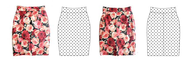 Pleated Pencil Skirt Pattern Release!