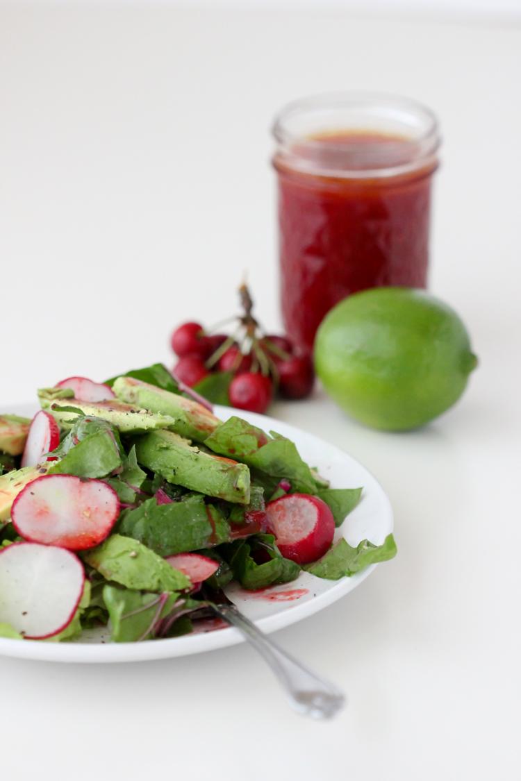 Sweet Cherry Lime Vinaigrette Recipe - Delia Creates