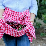 Simple Gathered Half Apron TUTORIAL
