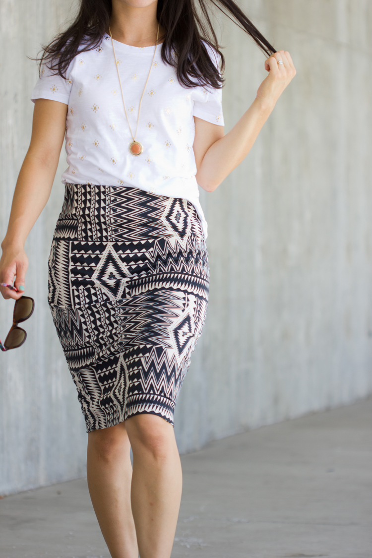 Knit Pencil Skirt Pattern Re-Mix Tutorial