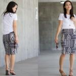 Knit Pencil Skirt Pattern Re-Mix Tutorial