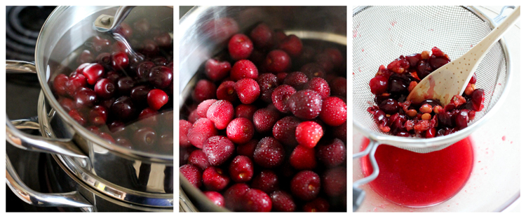 Fresh Cherry Syrup  - Delia Creates
