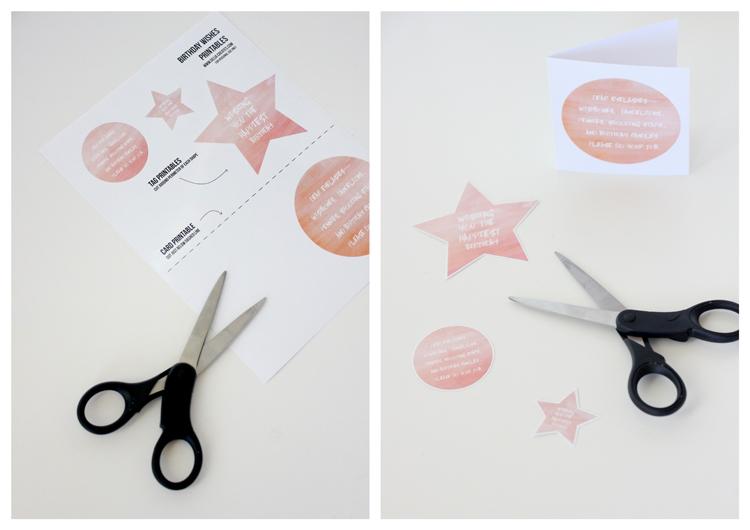 Birthday Wishes Printable - Delia Creates