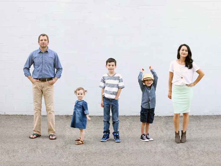 Merged Family Photo Tutorial - Delia Creates