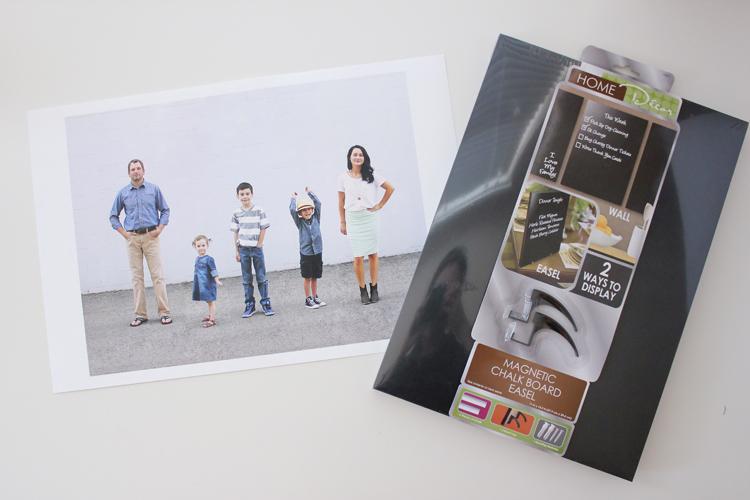 Photo Family Home Evening Board - Delia Creates