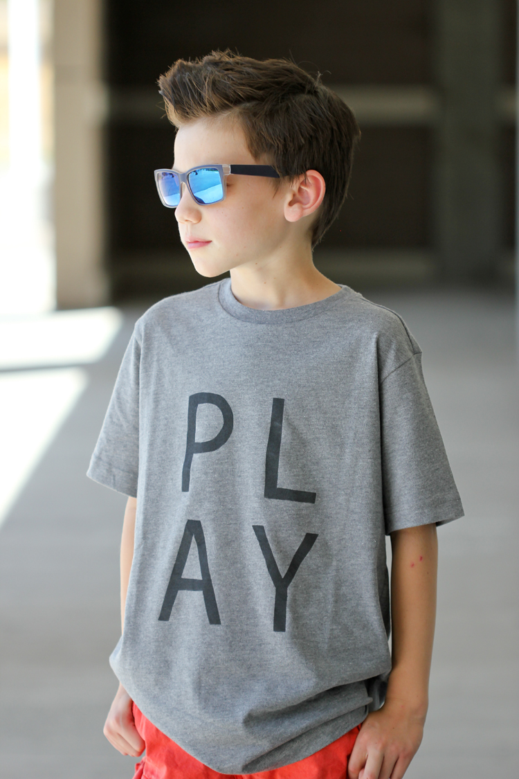 DIY Graphic Tee + Free printables! || Delia Creates