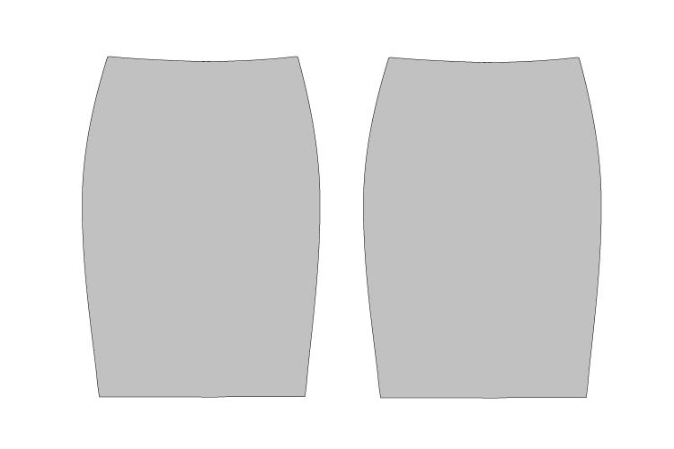 Knit Pencil Skirt Pattern Re-Mix - Delia Creates