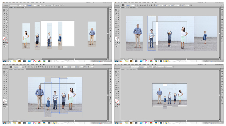Merged Family Photo Tutorial - Delia Creates