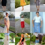 Pleated Pencil Skirt Re-Mix Tour Round Up