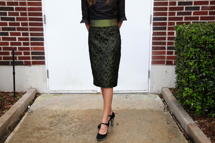 Pleated Pencil Skirt Pattern Re-Mix ROUND UP - Delia Creates