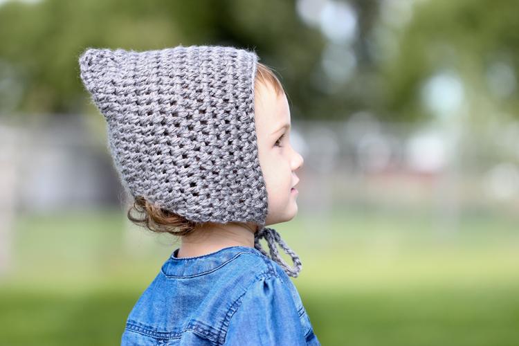 Bonnet Beanie Free Crochet Pattern