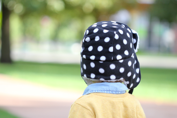 Toddler Ear Flap Hat  FREE PATTERN - Delia Creates