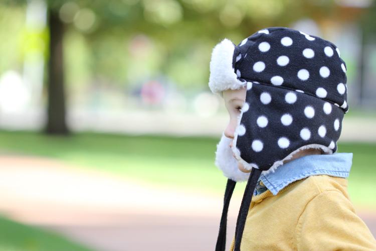 Toddler Ear Flap Hat  FREE PATTERN - Delia Creates