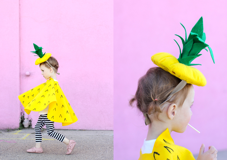 Sew Pineapple Halloween Costume