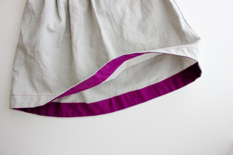 Bohemian Babydoll Dress    Pattern by Elegance & Elephants    Sewn by Delia Creates