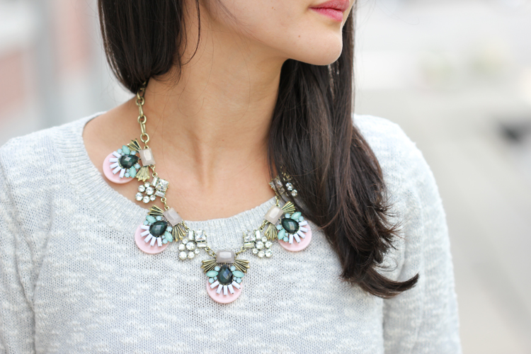 Statement Necklace from Sole Society (Delia Creates)
