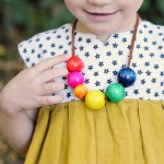DIY Cute Easy Toddler Safe Necklaces