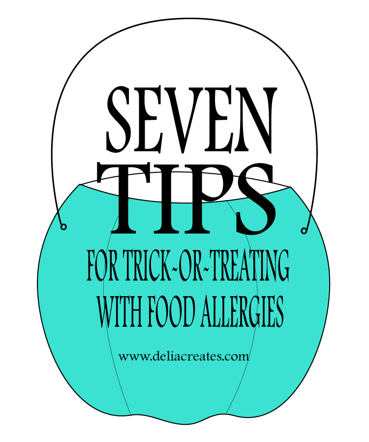 7 Tips for Trick or Treating with Food Allergies // Delia Creates