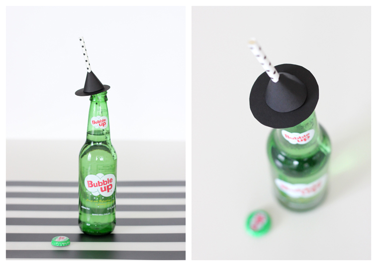 DIY Halloween Straw Toppers - Free Printables // Delia Creates
