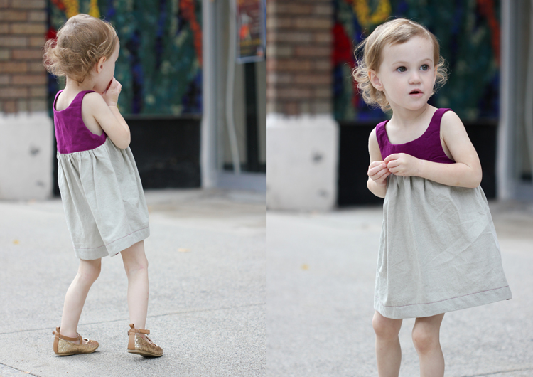 Bohemian Babydoll Dress || Pattern by Elegance & Elephants || Sewn by Delia Creates