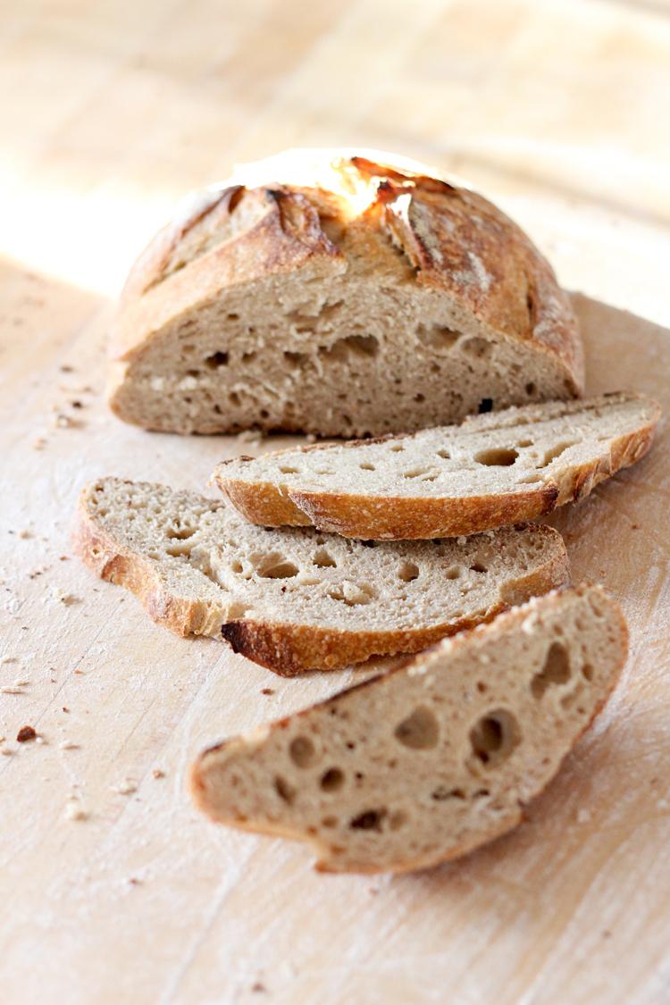Sourdough bread baking from scratch // Delia Creates for Craftsy