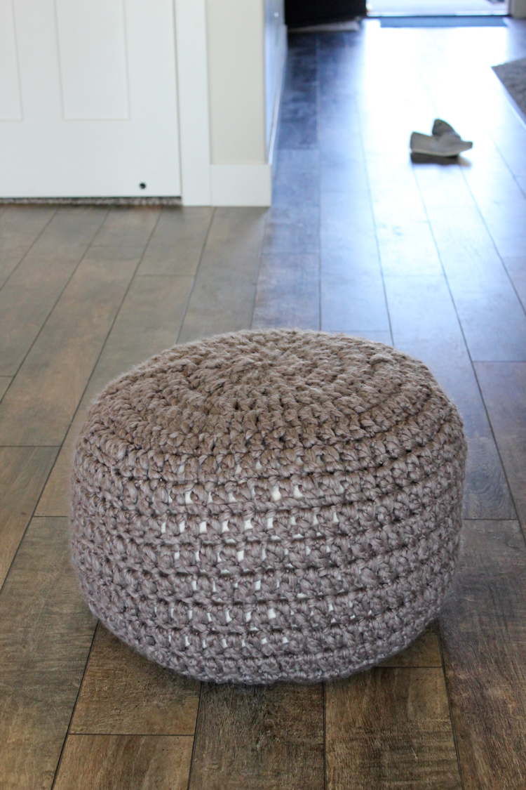Crocheted Floor Cushions Free Pattern Tutorial