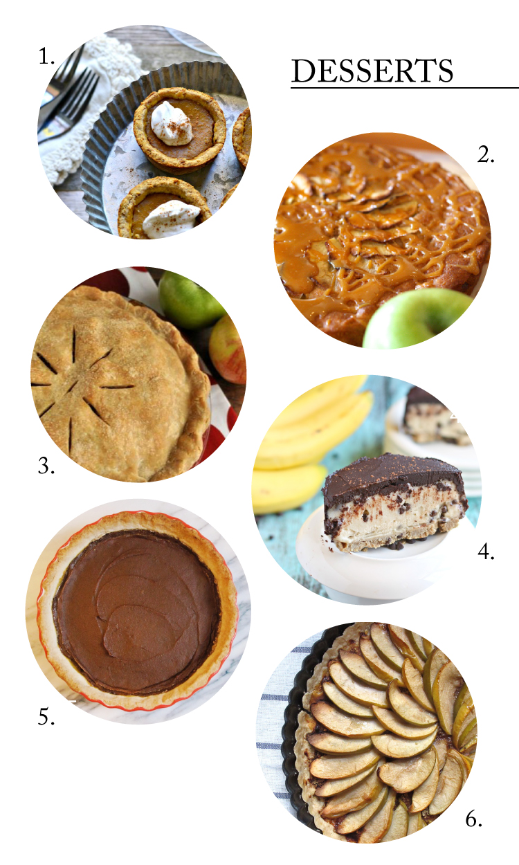Allergy Friendly Thanksgiving Dessert Recipes - Gluten, dairy, egg, and peanut FREE! // Delia Creates