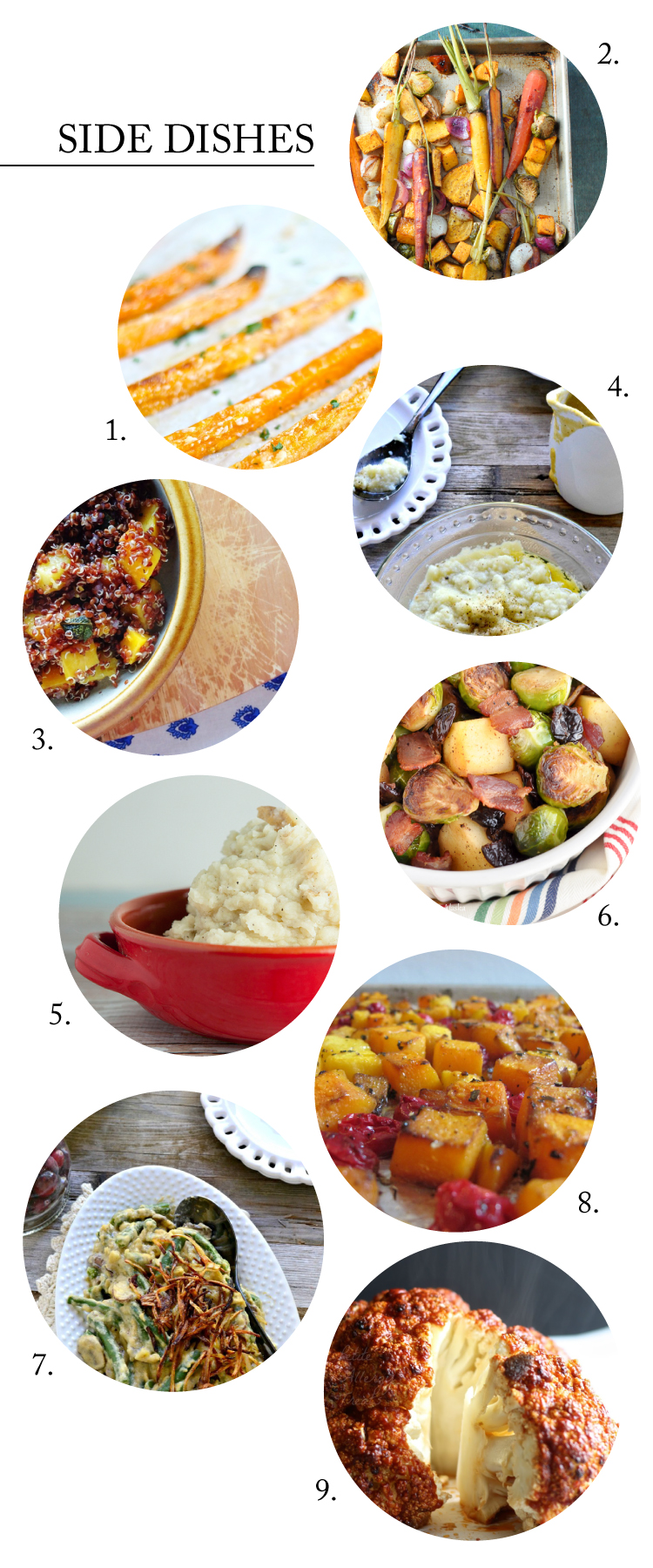 Allergy Friendly Thanksgiving Side Dish Recipes - Gluten, dairy, egg, and peanut FREE! // Delia Creates
