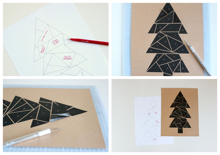 Free Printable Advent Calendar // Delia Creates