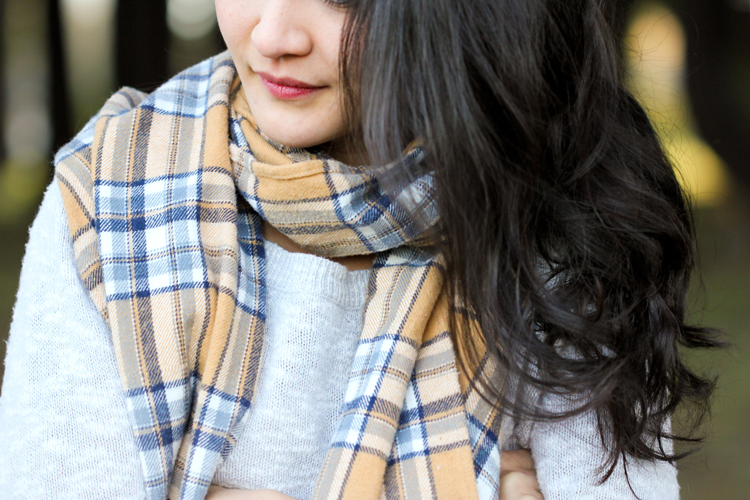 Cozy DIY Flannel Scarves