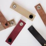 DIY Leather Cord Organizers