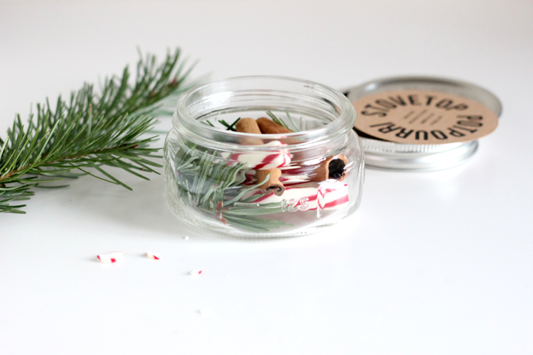 christmas pot pourri - handmade christmas gift ideas