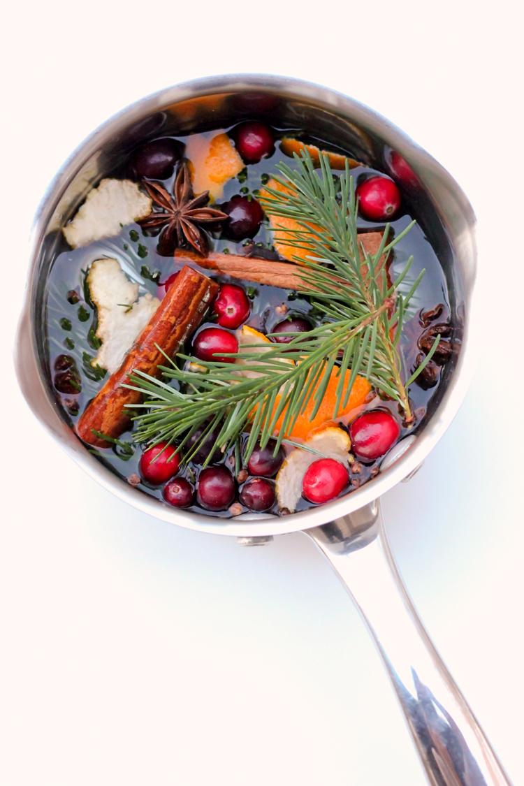 Stove Top Potpourri Neighbor Gifts - Three recipes + a free printable! // Delia Creates