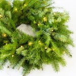 Basic Fresh Christmas Wreath Tutorial